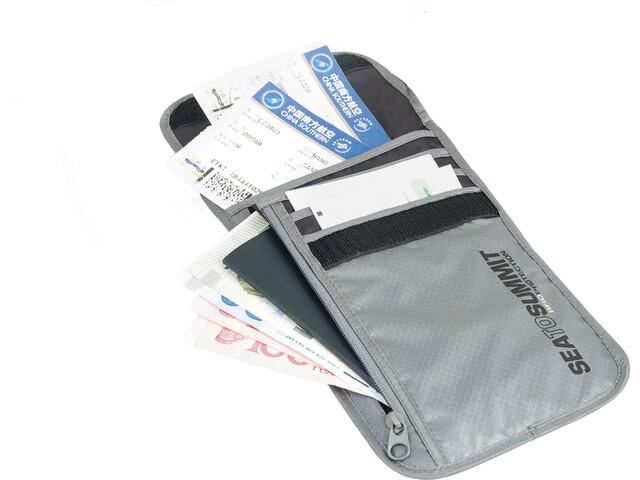 Sea to Summit Neck Wallet RFID grey